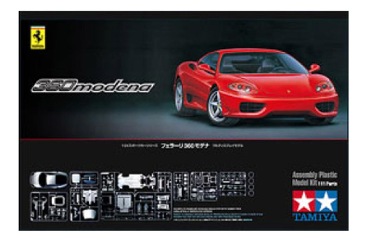 1/24 Ferrari 360 Modena Sports Car (Molded in Red)