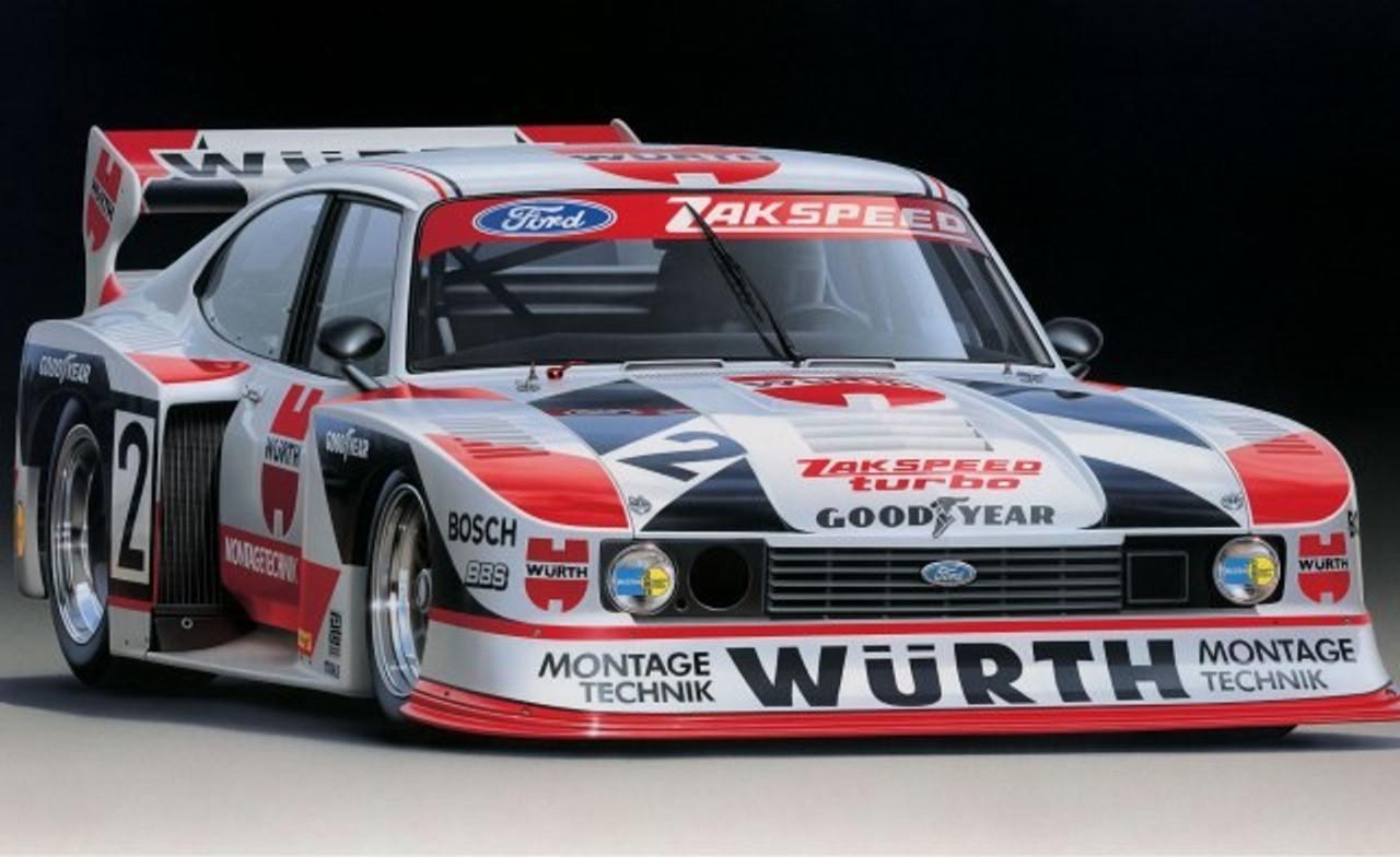 1/24 Ford Zakspeed Turbo Capri Gr5 Wurth Race Car