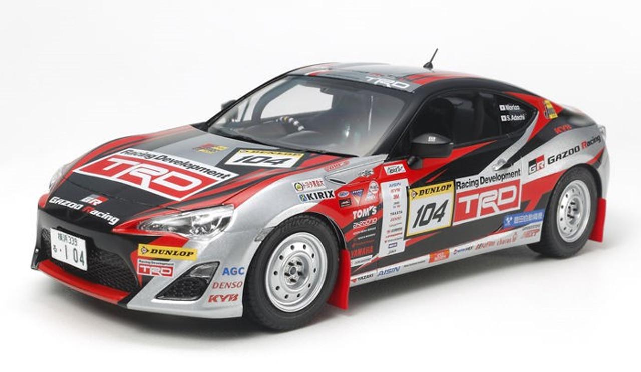 1/24 2013 TRD86 Gazoo Rally Race Car