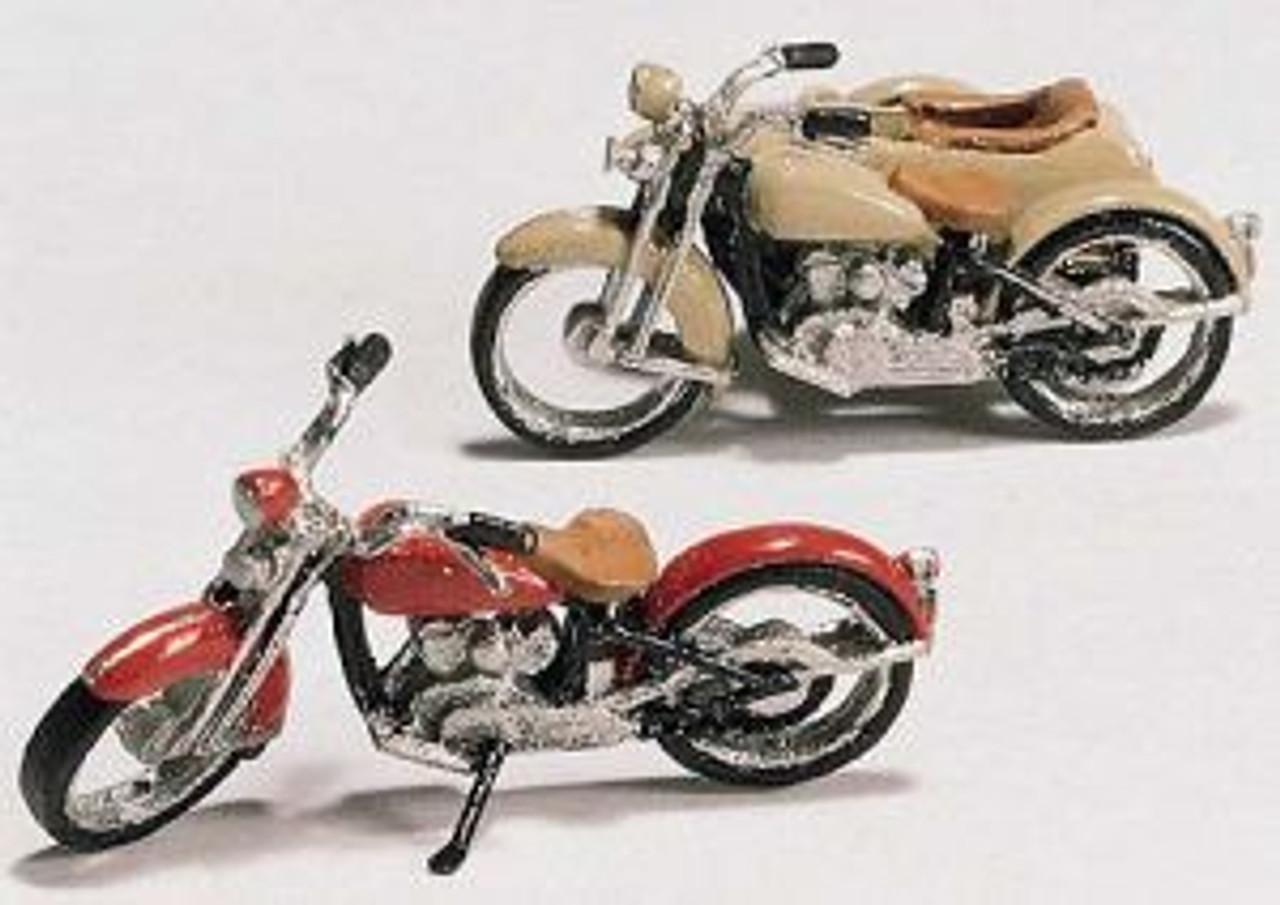 HO Motorcycles & Sidecar