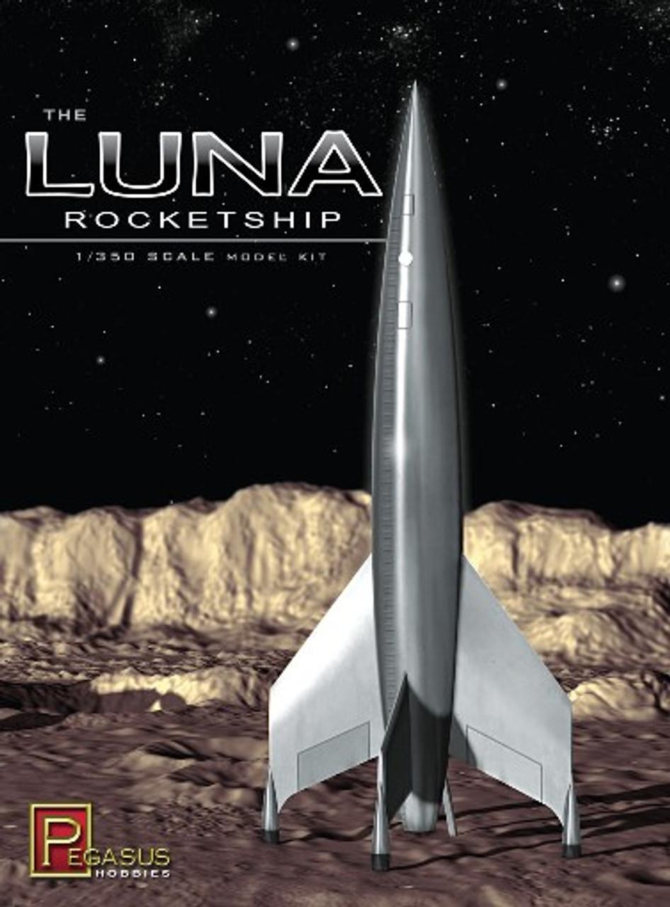 PGH-9110  1/350 Luna Rocketship