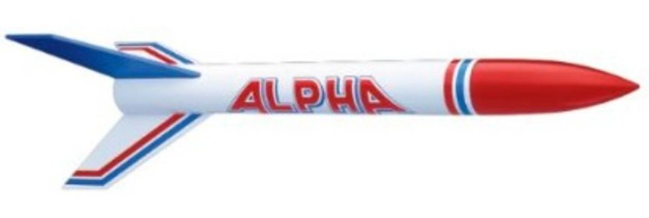 EST-1225  Alpha Model Rocket Kit (Skill Level 1)
