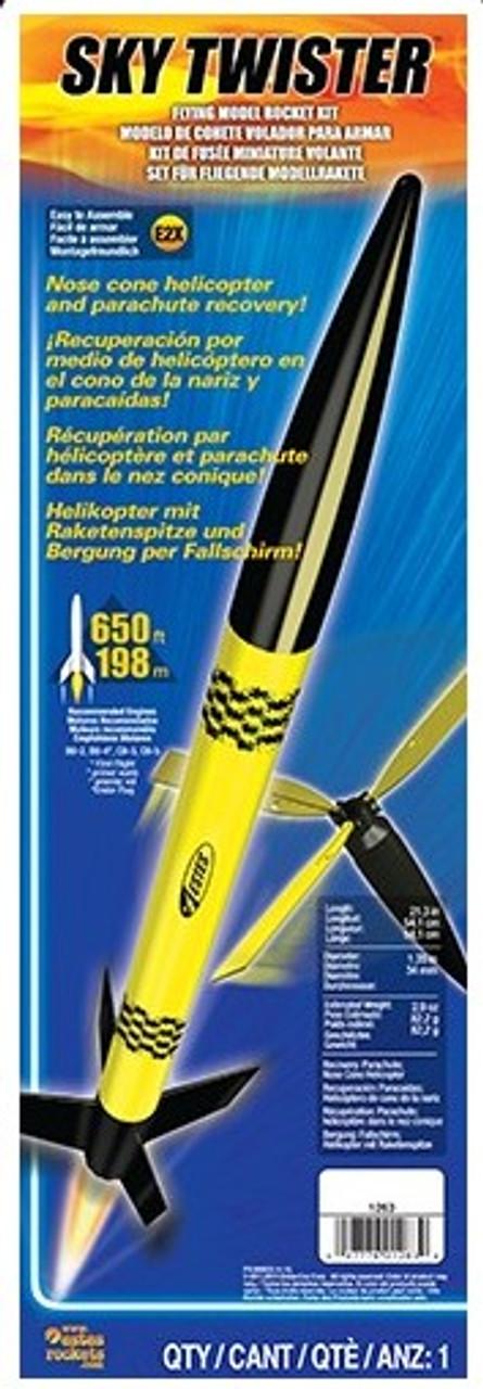 EST-1263  Sky Twister Model Rocket Kit (Skill Level E2X)