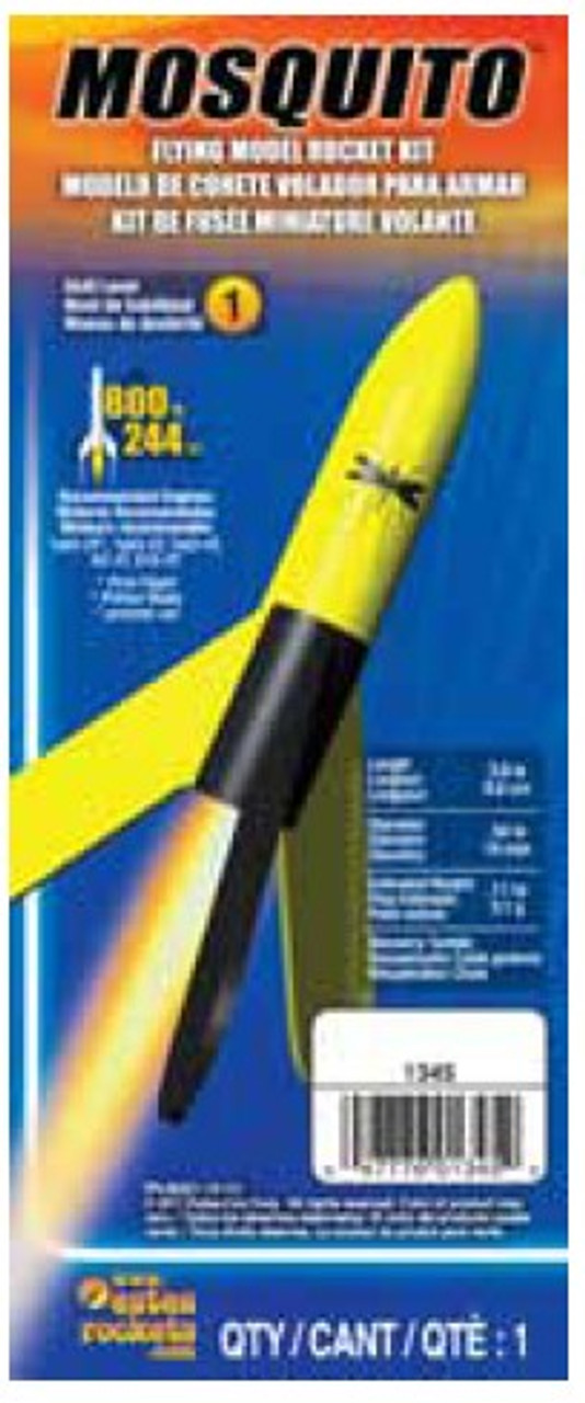 EST-1345  Mosquito Model Rocket Kit (Skill Level 1)