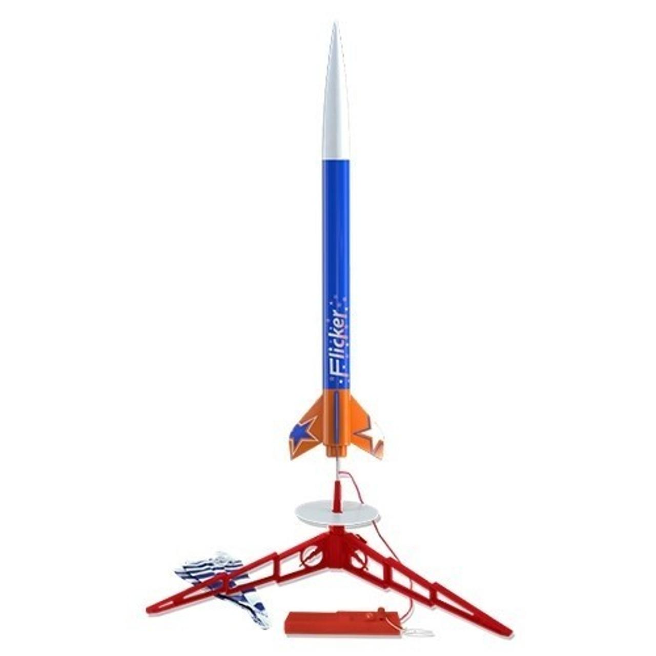 EST-1437  Flicker Model Rocket Launch Set (Skill Level 2)
