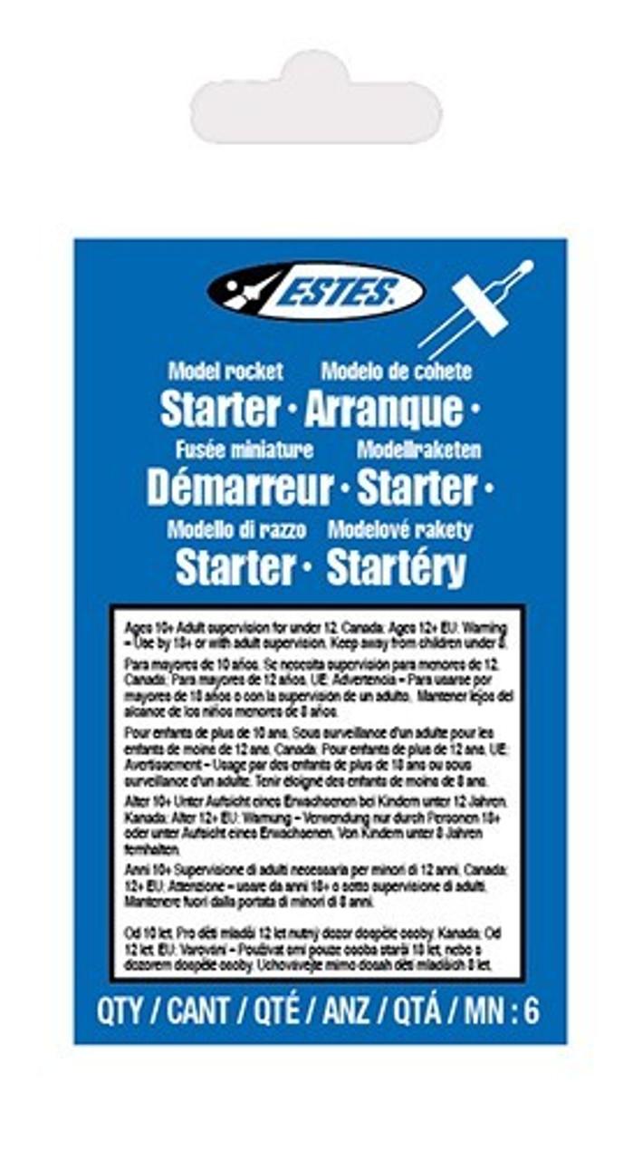 EST-2302  Model Rocket Solar Igniters (6)