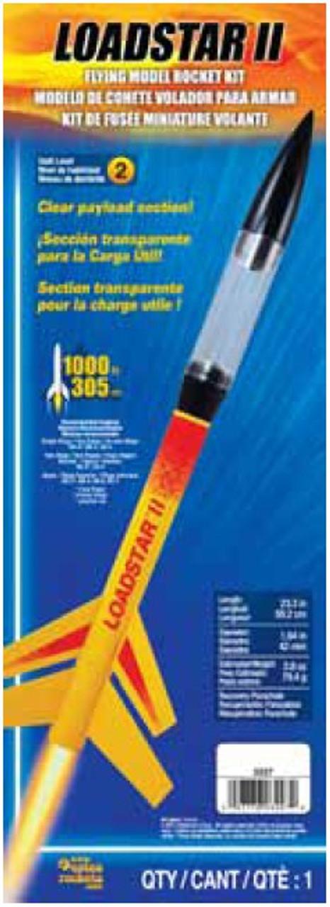 EST-3227  Loadstar II Model Rocket Kit (Skill Level 2)