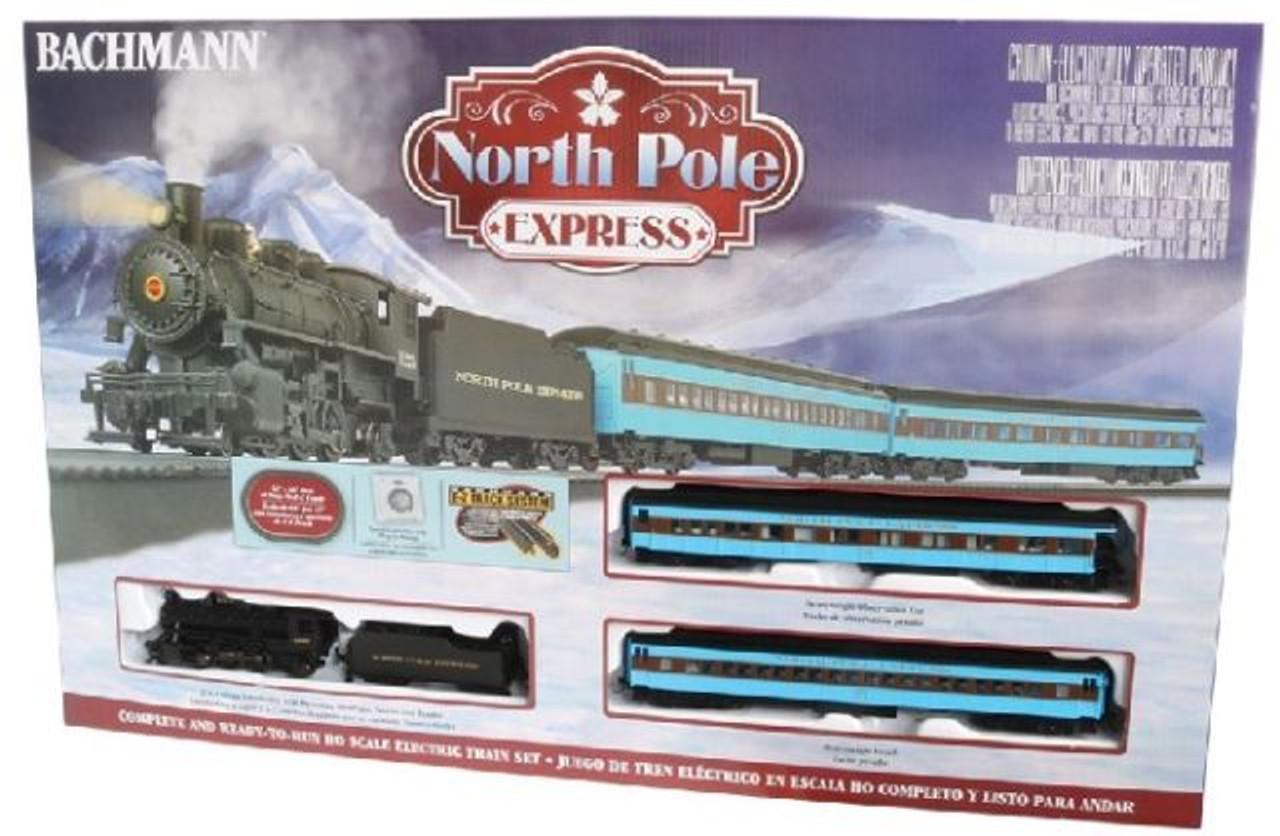 BAC00751  HO North Pole Express Train Set