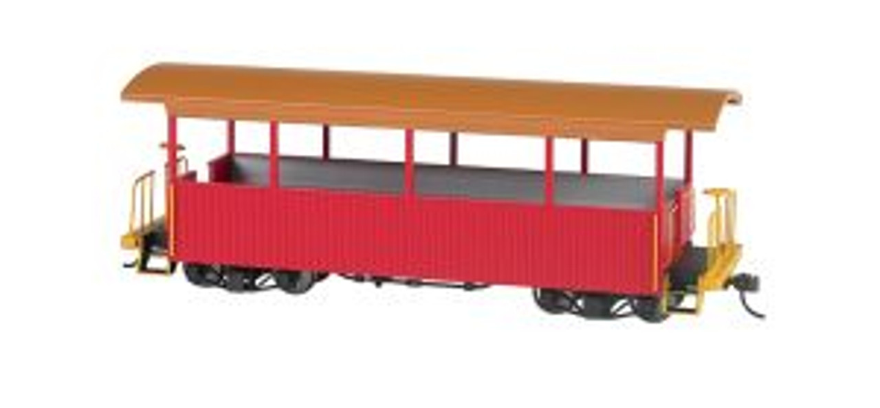 BAC26002  On30 Spectrum Excursion Car, Red/Tan Roof