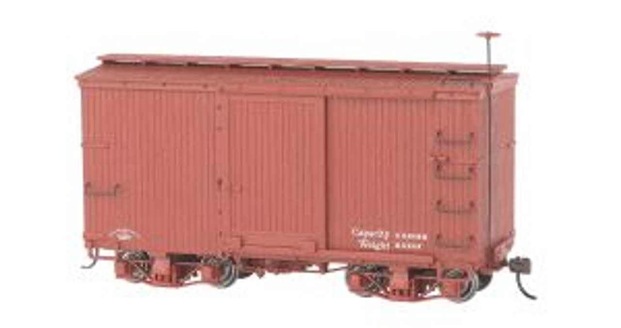 BAC26501  On30 Spectrum 18' Box, Undecorated/Red (2)