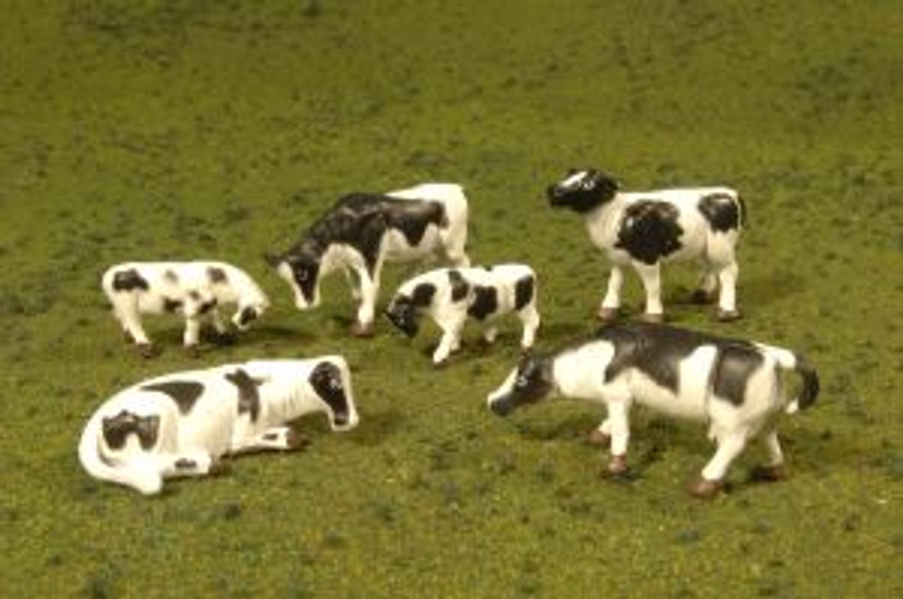 BAC33103  HO Cows, Black & White (6)
