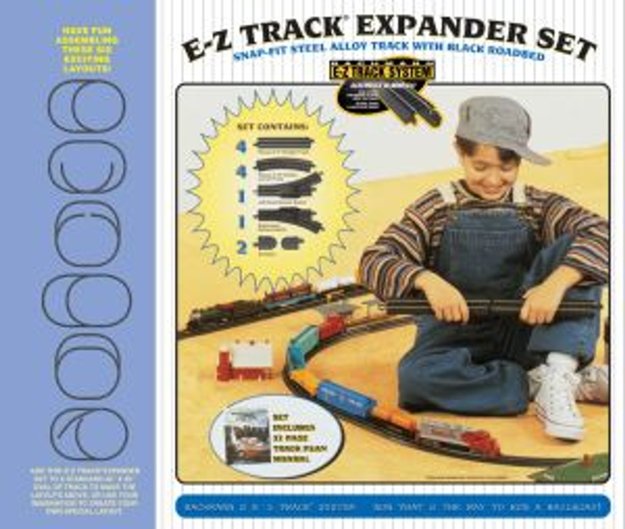 BAC44494  HO Steel E-Z Layout Expander Set