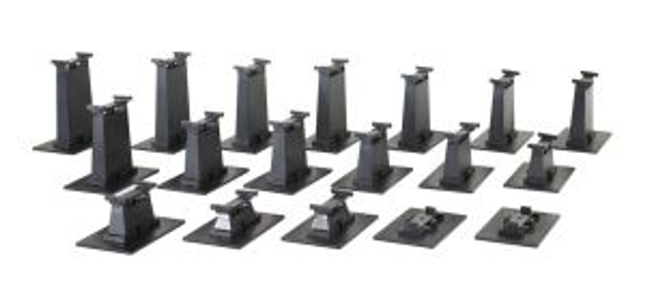 BAC44595  HO EZ Track Graduated Pier Set (18)