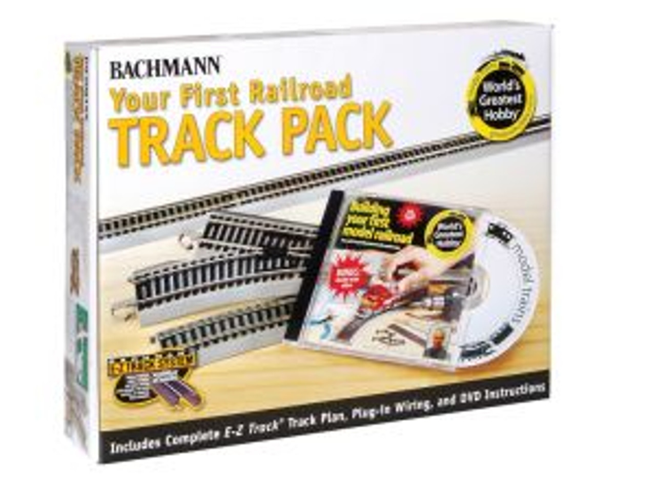 BAC44596  HO NS EZ World's Greatest Hobby Track Pack