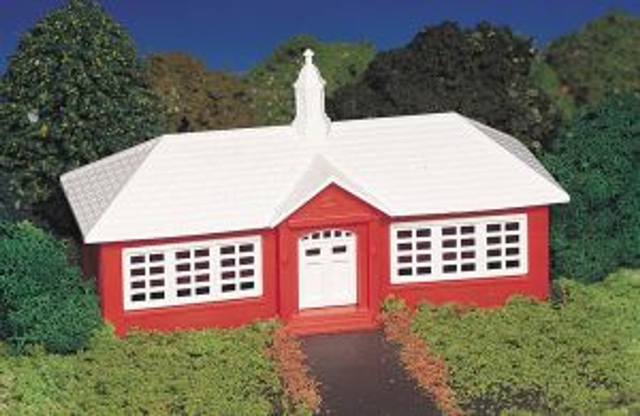 BAC45133  HO Snap KIT School House
