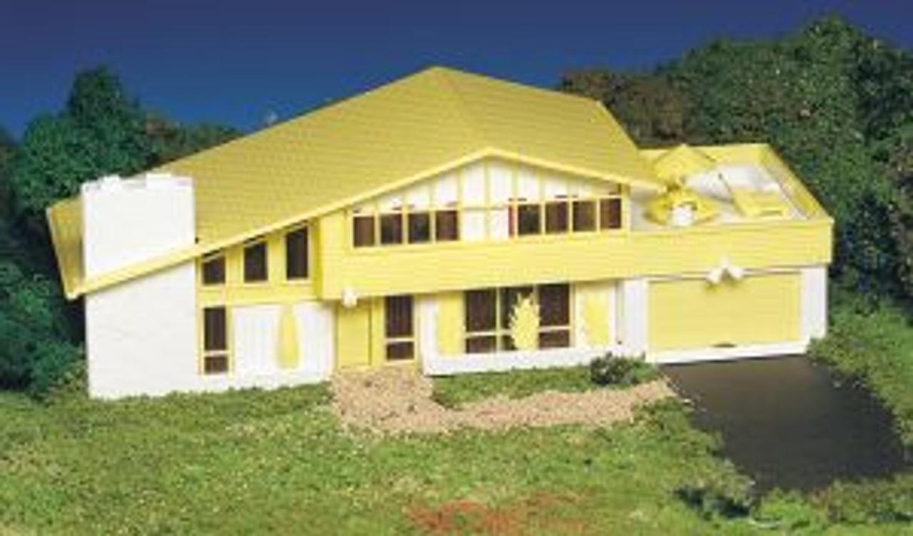 BAC45432  HO Snap KIT Contemporary House