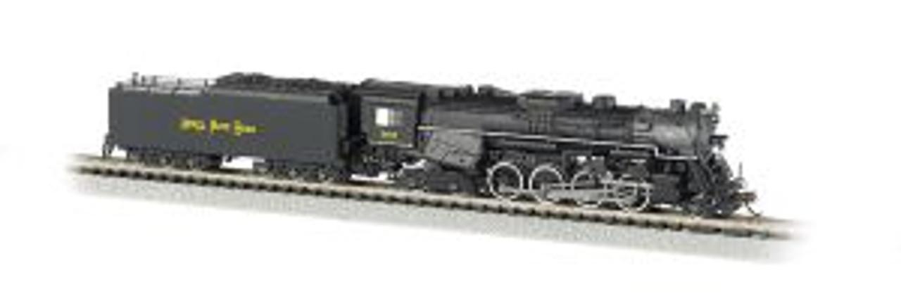 BAC50951  N 2-8-4 w/DCC & Sound Value, NKP/Railfan #765