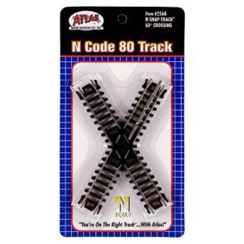 ATL2568  N Code 80 60 Degree Crossing