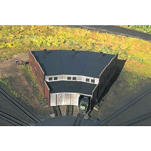 ATL2843  N KIT 3-Stall Roundhouse