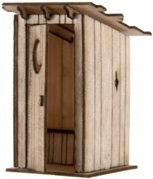 ATL4001008  HO Laser Cut KIT Outhouse