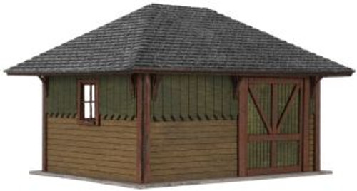 ATL4001009  HO Laser Cut KIT Section House