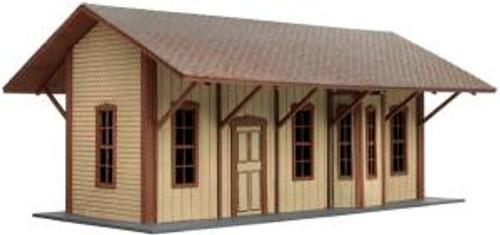 ATL4001017  HO Laser Cut KIT Manahawkin Railroad Station