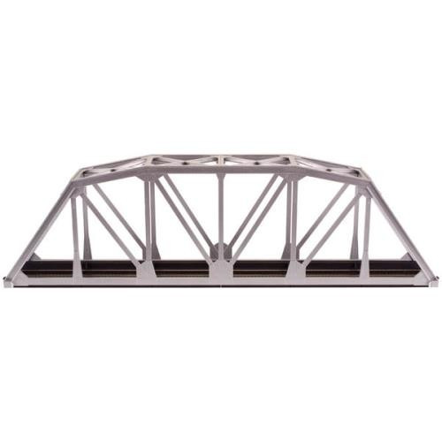 "ATL889  HO KIT Code 100 18"""" Through Truss Bridge, Silver"