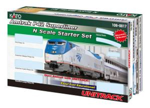 KAT1060017  N P42 Superliner Starter Set Amtrak/Phase V