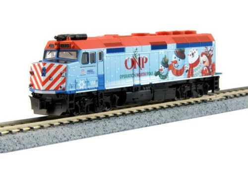 KAT1060036  N 2016 Operation North Pole Christmas Train Starter Set