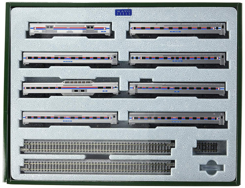 KAT106081  N Amtrak PhI Southwest Limited 8-Car Psg.Set
