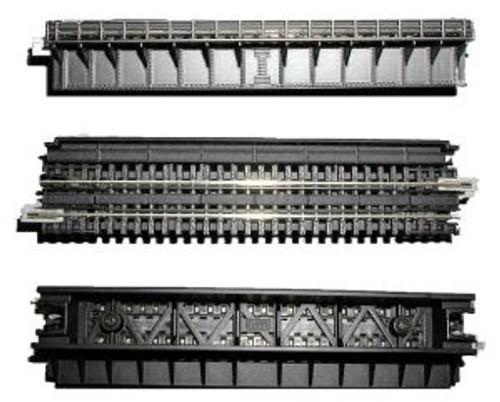 "KAT20464  N 124mm 4-7/8"" Deck Plate Girder Bridge Black"