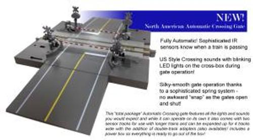 KAT206521  N North American Style Crossing Gate