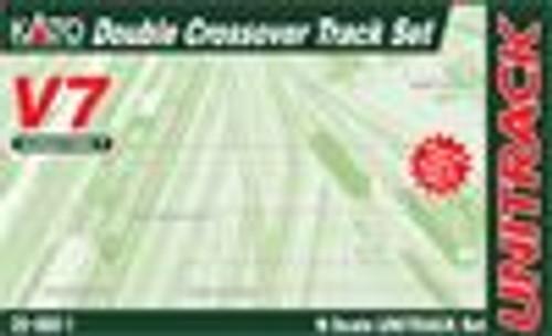 KAT208661  N V7 Double Crossover Track Set