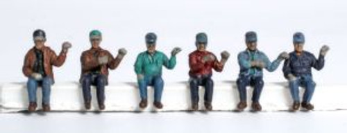 KAT31610  HO Seated Engine Crew Figures