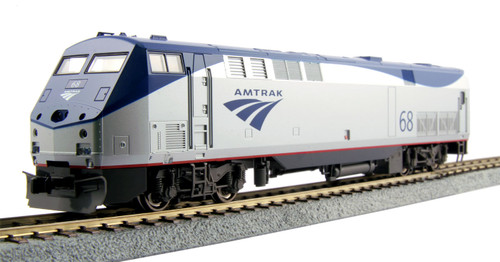 HO P42 Diesel Amtrak  PhVb #68 w/Loksound DCC