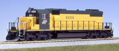 KAT376522  HO SD38-2 Diesel CNW #6656/yel&grn
