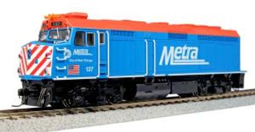 KAT376571  HO F40PH Metra/City of West Chicago #137