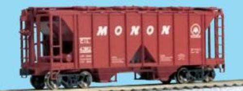KAT380204  HO ACF 70Ton Covered Hopper Monon (3)