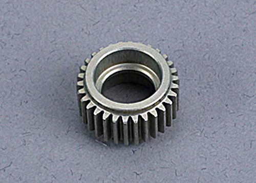 Idler gear, machined-aluminum (not for use with steel top gear) (hard-anodized)