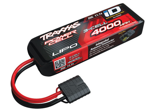 4000mAh 11.1v 3-Cell 25C LiPo Battery