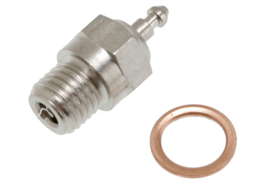 Glow plug, super-duty (long-medium)/gasket