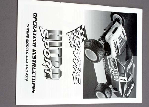 Owner's Manual, Nitro Sport