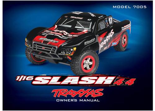 Owner's manual, 1/16 Slash 4WD (model 7005)