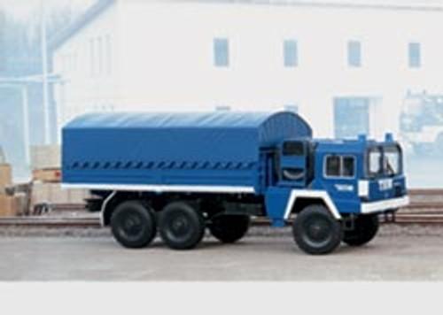 M18101  2002 Emergency Aid Truck w/Tarp Cover (Scale 1)