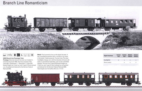 M26559  2010 Qtr.2 Digital Branch Line Passenger Train Set (L) (HO Scale)