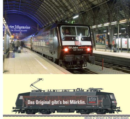 M37530  2009 HO Insider Dgtl DB cl 120.1 Electric Loco for 150th Anniversary of