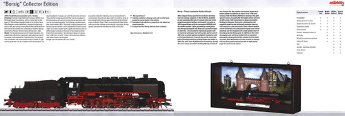 M37816  2013 Qtr.3 Dgtl DRG cl 50 Steam Loco w/Tender & Display Case (HO Scale)