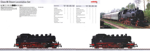 M37862  2013 Qtr.4 Dgtl DB cl 86 Steam 2-Locomotive Set (HO Scale)