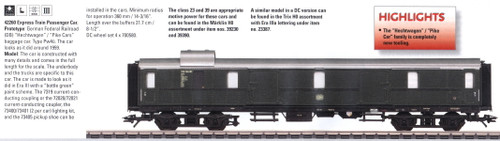 M42260  2009 Qtr.4 DB Era III Hecht Baggage Car