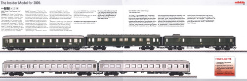 M42269  2009 Insider Express Passenger 5-Car Set